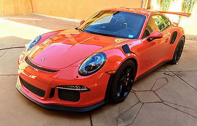 2016 Porsche 911 GT3 RS Coupe 2-Door 2016 Porsche 911 GT3 RS 991
