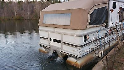 sun tracker Party hut , 3.0 I/O AC Full Camper Enclosure, 2012 Tandem Trailer