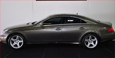 2007 Mercedes-Benz CLS-Class V8 2007 Mercedes CLS 550 BLACK