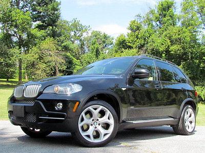 2008 BMW X5 4.8i NAVIGATION PANO 4.8 BMW BLACK TAN 2008 CAMERA X5 CLEAN WE FINANCE SPORT TECH X