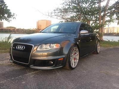 2008 Audi RS4 QUATTRO AWD AUDI RS4 QUATTRO