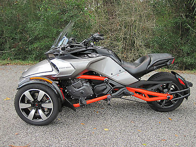 2015 Can-Am Spyder F3-S SE6 Electric Shift Semi Automatic  2015 Can-Am Spyder F3-S SE6 Reverse Trike VERY CLEAN! Deliv Poss to FL/GA/SC/NC