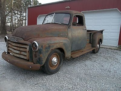 1952 GMC Barn Find Rat Rod 1952 GMC truck rat rod project