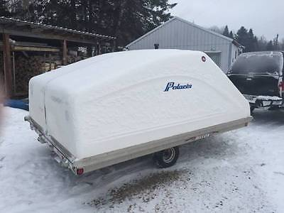 triton lt enclosed snowmobile trailer clamshell