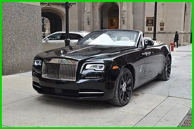 2016 Rolls-Royce Other Rolls Royce Dawn 2016 Used Turbo 6.6L V12 48V Automatic RWD Premium