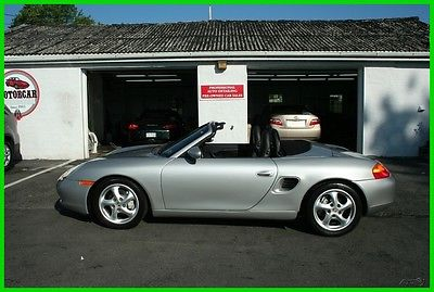 1999 Porsche Boxster Base Convertible 2-Door 1999 Porsche Boxster, Manual RWD Convertible Premium