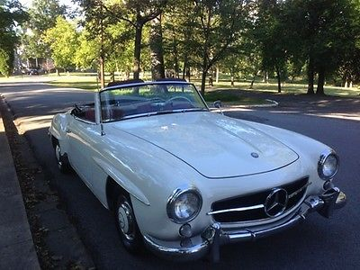 1960 Mercedes-Benz 190-Series SL 1960 mercedes 190 sl convertible