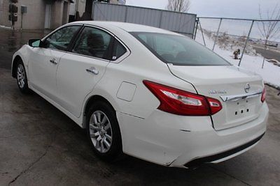 2016 Nissan Altima 2.5 2016 Nissan Altima Sedan 2.5 Damaged Salvage Only 8K Miles Gas Saver Wont Last!