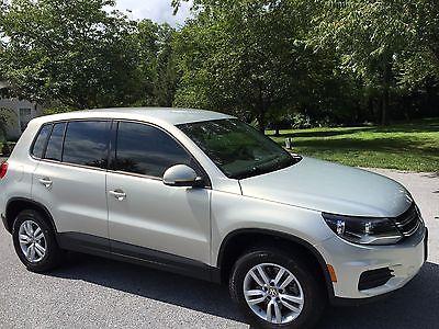 2014 Volkswagen Tiguan S 2014 Volkswagen Tiguan