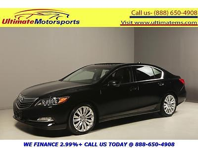 2014 Acura Other  2014 ACURA RLX TECH NAV SUNROOF LEATHER BLIND LANE HEATSEAT SPORT BLACK WARRANTY