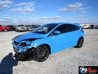 2016 Ford Focus 2016 -74 Auto-- Salvage Repairable, wholesale, rebuilt, export, RS,  AWD