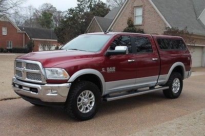 2013 Ram 3500 Laramie Crew Cab 4WD Cummins Diesel One Owner Perfect Carfax 6.7L Cummins Diesel Heated and Cooled Seats Nav Loaded