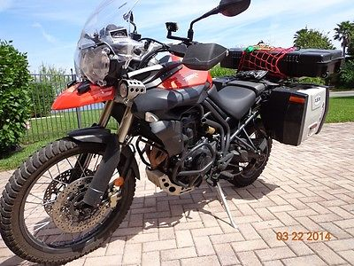 2012 Triumph Tiger 800 XC ABS  motorcycle