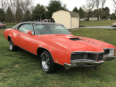 1970 Mercury Other GT 1970 Mercury Cyclone GT, M code 351, competition Orange