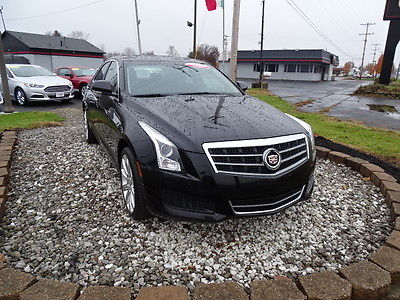 2013 Cadillac ATS 2.0L Turbo Luxury AWD 2013 CADILLAC ATS 2.0L Turbo Luxury AWD 50024 Miles Black Sedan I-4 cyl 6-Speed