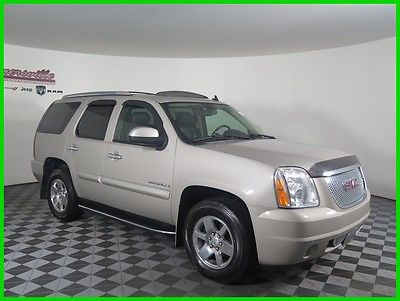 2008 GMC Yukon Denali AWD V8 SUV Sunroof Heated Leather Seats 185305 Miles 2008 GMC Yukon AWD SUV 3rd Row Seating Towing Package Side Steps