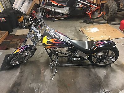 1998 Custom Built Motorcycles Chopper  1998 Ultra Ground Pounder Custom Chopper Roller - Less Than 5k Miles!
