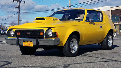 1973 AMC Gremlin X 1973 AMC Gremlin X 304 V8, 3-speed New Ferrari Yellow Paint, New Interior