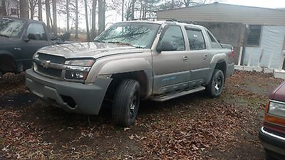 2002 chevrolet avalanche z71 cars for sale 2002 chevrolet avalanche z71 2002 chevrolet avalanche 1500 z71 4x4 sciox Choice Image