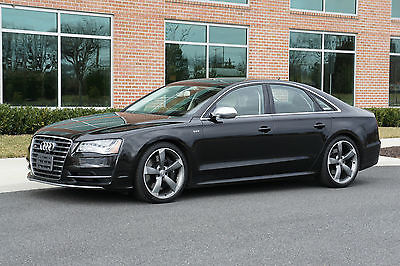 2013 Audi S8 4.0T V8 Quattro - FREE VEHICLE SHIPPING!* 2013 Audi S8 - Design Selection Interior - Full Leather Package