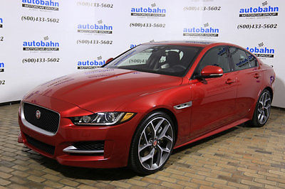 2017 Jaguar XE R-Sport RWD R-Sport RWD - Mgr Demonstrator Italian Racing Red