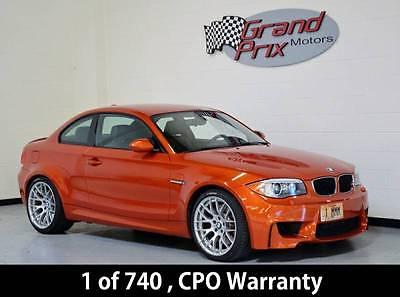 2011 BMW 1-Series -- 2011 BMW 1M One of 740 - CPO Warranty