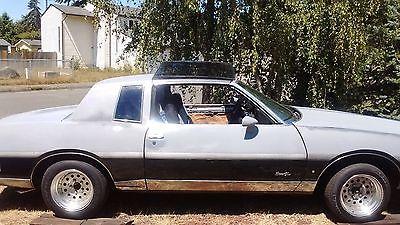 1984 Pontiac Grand Prix  Pontiac Grand Prix LE 1984 with T-Tops and Dual Exhaust