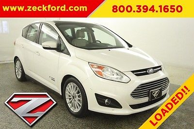 2014 Ford C-Max SEL Energi 2L I4 Automatic FWD Panoramic Moonroof Navigation Leather Heated Seats Reverse
