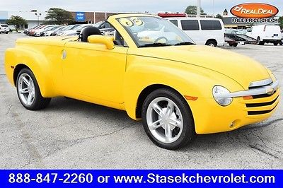 2003 Chevrolet SSR LS 2003 Chevrolet SSR, Slingshot Yellow with 122,455 Miles available now!