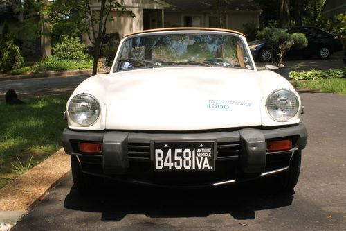 1980 Triumph Spitfire  1980 Triuph Spitfire 1500, one owner low miles, ALL original w/Window Sticker