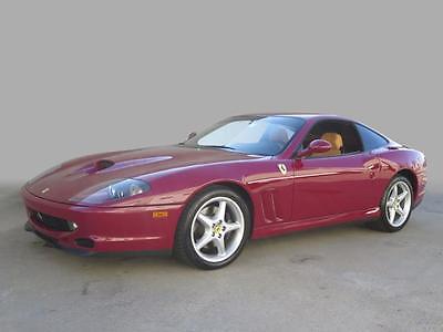 1998 Ferrari 550 Maranello 1998 Ferrari 550 Maranello Maranello 46,501 Miles Rosso Barchetta 2dr Car 5.5L 1