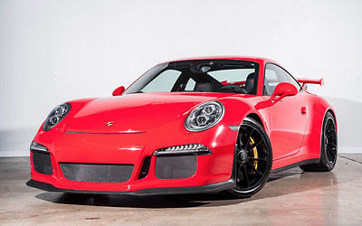 2014 Porsche 911 2dr Coupe GT3 2014 Porsche 911 2dr Coupe GT3 4,755 Miles Guards Red Coupe 3.8L FLAT 6 CYLINDER