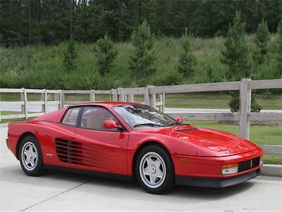 1987 Ferrari Testarossa -- 1987 Ferrari Testarossa