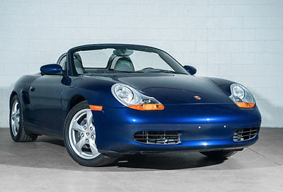 2002 Porsche Boxster 2dr Roadster 5-Speed Manual 2002 Porsche Boxster 2dr Roadster 5-Speed Manual 19,253 Miles Lapis Blue Metalli