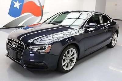 2013 Audi A5  2013 AUDI A5 2.0T QUATTRO PREM COUPE AWD SUNROOF 26K MI #037822 Texas Direct
