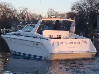 SEARAY SUNDANCER 350 CLEAN / REPO / LOW HOURS / GENERATOR / AC / PRICED TO SELL
