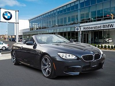 2014 BMW M6 -- 2014 BMW M6 6,809 Miles Singapore Gray Metallic Convertible Twin Turbo Premium