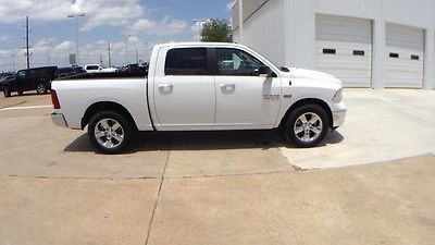 2016 Ram 1500 Lone Star 2016 Ram 1500 Lone Star 0 Miles Bright White Clearcoat 4D Crew Cab 5.7L 8-Cylind
