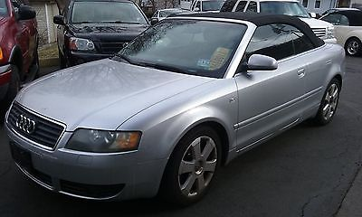 2004 Audi A4 Cabriolet Convertible 2-Door 04 Audi A4 convertible Clean, runs great 1 owner, never in an accident