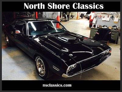 1970 Dodge Challenger -BLACK ON BLACK- 360 V8 AUTOMATIC - 1970 Dodge Challenger -BLACK ON BLACK- 360 V8 AUTOMATIC -RESTORED 71 72