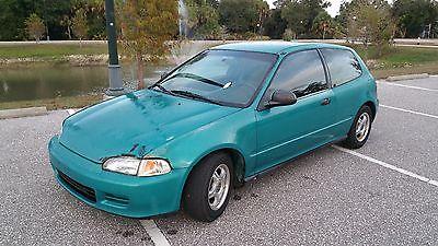 1994 Honda Civic VX 1994 Honda Civic VX