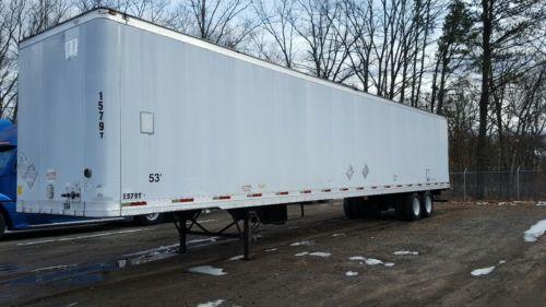 53' foot Trailmobile dry van trailer