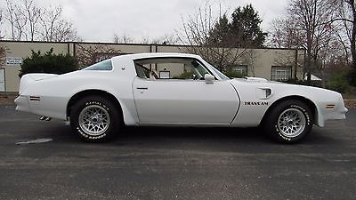1978 Pontiac Trans Am  1978 Pontiac Trans Am, Very Unique White over White/Red, 75K miles, Great Shape