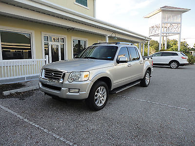 2007 Ford Explorer Sport Trac AWD Limited Crew Cab Pickup 4-Doors 2007 FORD EXPLORER SPORT TRAC LIMITED 4.0 AWD FLORIDA CAR NO ACCIDENT CLEAR TITL