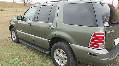 2002 Mercury Mountaineer Mountaineer 2002 Mercury Mountaineer