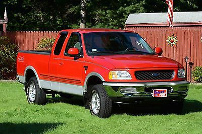 Ford f 150 lariat extended cab pickup 3 door cars for sale for 1998 ford f150 motor for sale