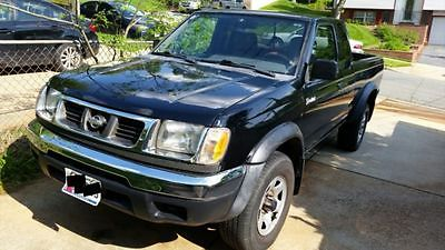 1999 Nissan Frontier King Cab 1999 Nissan Frontier XE King Cab 2-door Pickup SALVAGE TITLE