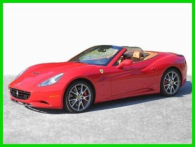 2014 Ferrari California 2014 Ferrari California Convertible 2014 2DR CONV Used Certified 4.3L V8 32V Automatic RWD Premium