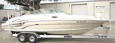 2002 Sea Ray 270 Sundeck 6.2MPI Low Hours Clean Recent Refit - Brand New Trailer