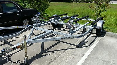 Pwc And Boat Bination Trailers Fs Aluminum Magic Tilt 2 3 Place Trailer